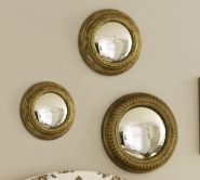 french film star mirror set