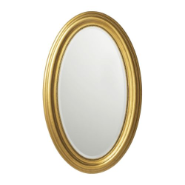 french film star round mirror
