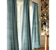 Surfer chic drapes
