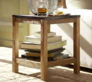 Surfer chic side table