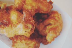 oyster fritters