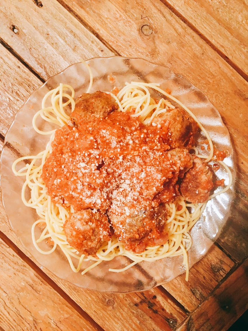 Friday's  Homemade Meatballs and Sauce